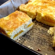 Ciasto morelowe z bezami