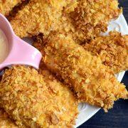 Nuggetsy z kurczaka – pieczone