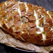 Zapiekany chleb