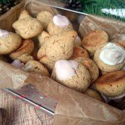 Włoskie krasnale czyli ciasteczka orzechowe