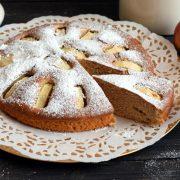 Cynamonowe ciasto z jabłkiem