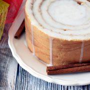 Zakręcone ciasto cynamonowe