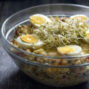 Sałatka a'la sos tatarski