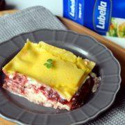 Słodka lazania – z serem i śliwkami