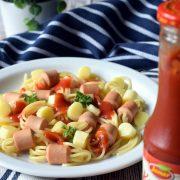 Spaghetti z parówkami – dla dzieci