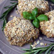 Udka z piekarnika w panierce z płatków owsianych i sezamu