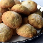 Śnieżne ciasteczka - ciasteczka cieszyńskie