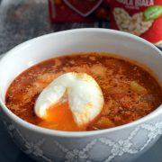 Zupa pomidorowa z białą fasolką