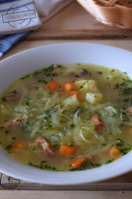 Zupa Z Bialej Kapusty A La Slodki Kapusniaczek Smaki Na Talerzu