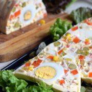 Majonezowa terrina z jajkami