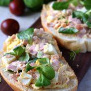 Pasta kanapkowa z sera i szynki konserwowej