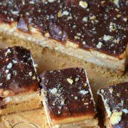 Ciasto bez pieczenia - z mascarpone i masłem orzechowym
