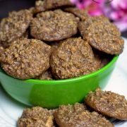 Ciasteczka czekoladowo-kokosowe