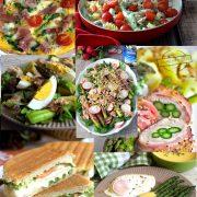 7 pomysłów na dania ze szparagami