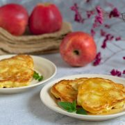 Placki z jabłkami