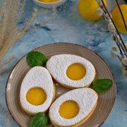 Kruche ciasteczka - jajeczka wielkanocne