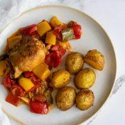 Podudzia kurczaka z papryką
