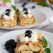 Naleśniki z bananami i kajmakiem - Banoffee
