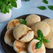 Chlebki z piekarnika